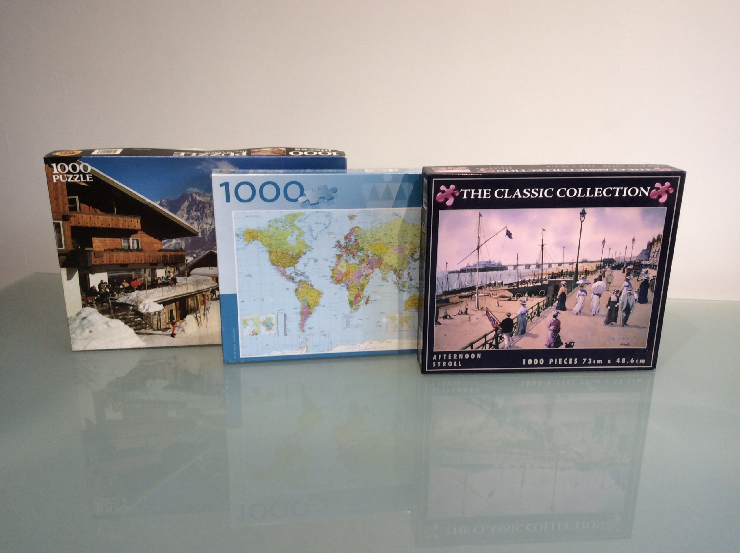 1000 piece jigsaw collection